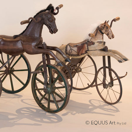 Equus Wine and Wooden Horses